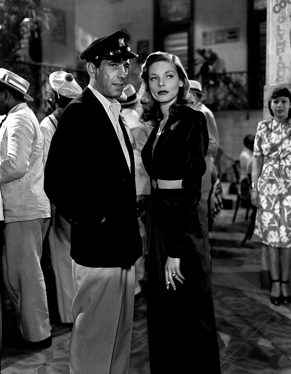 I just saw your screen test. I think were going to have a lot of fun together. - Humphrey Bogart to Lauren Bacall during their first meeting on the Warner Bros. lot after she tested for To Have and Have Not #quote #WednesdayWisdom