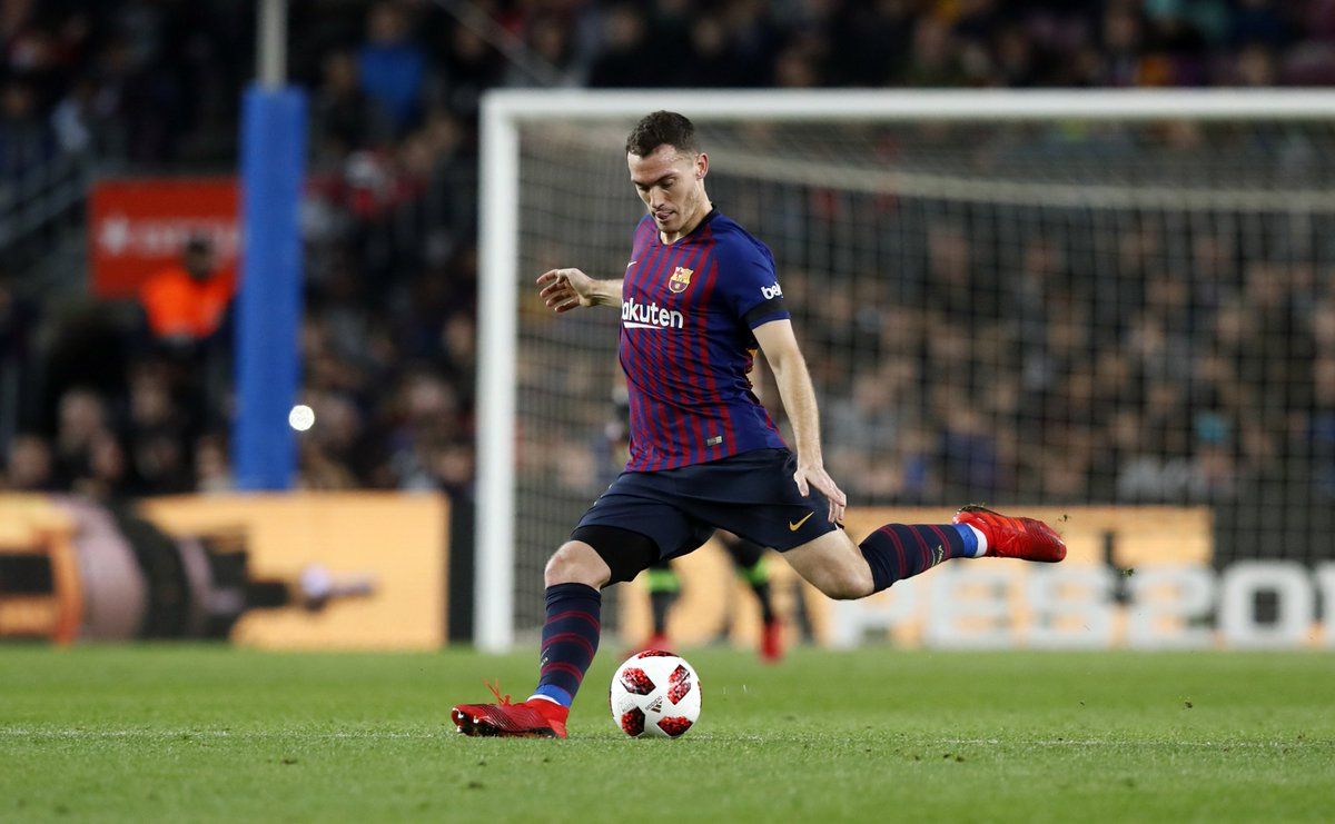 It's always good to have you back on the pitch, @thomasvermaelen 💪! #CopaBarça