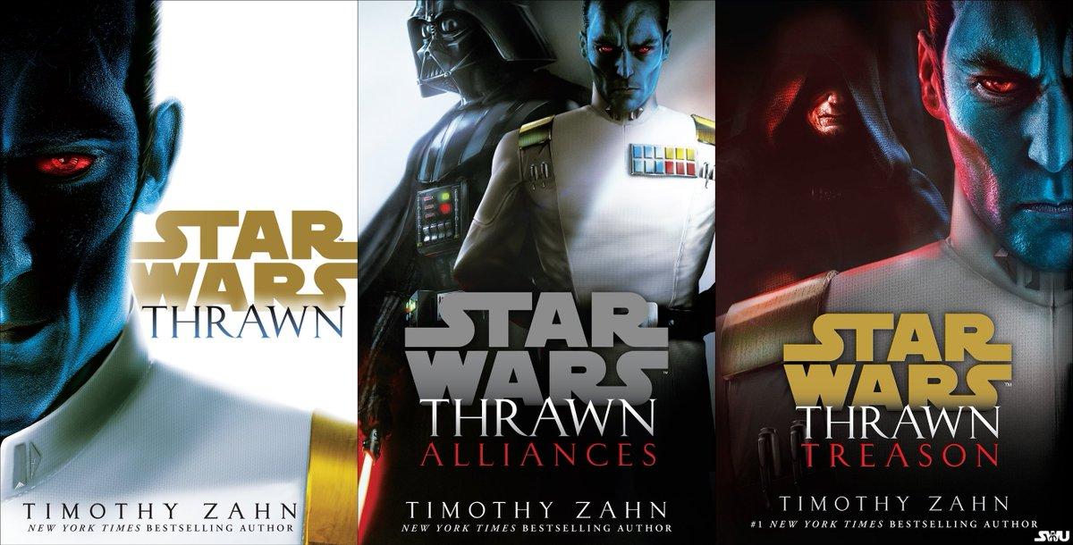 "The Star Wars Underworld en Twitter: ""The new #Thrawn Trilogy. -B-… """
