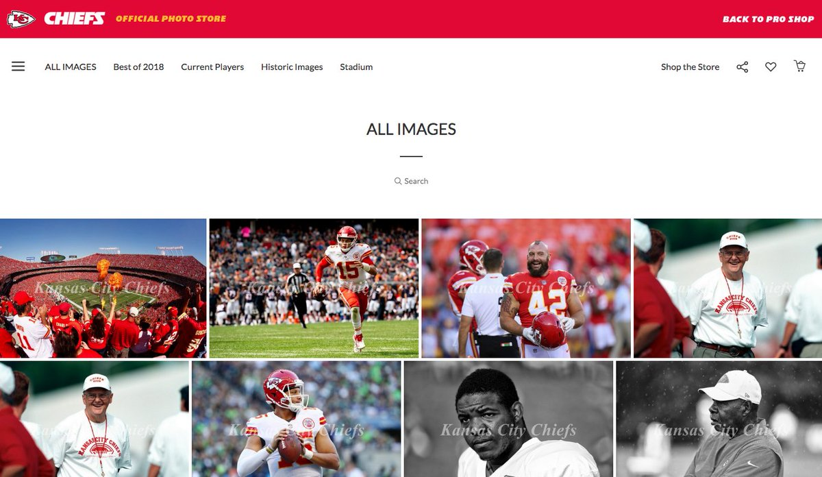 See a Chiefs photo you love? Now you can order it directly. Browse our gallery 📸 chfs.me/2Pk7vzu