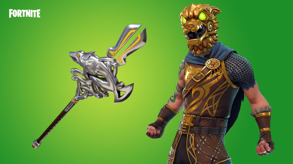 Fortnite On Twitter Legends Live On The Battle Hound Outfit