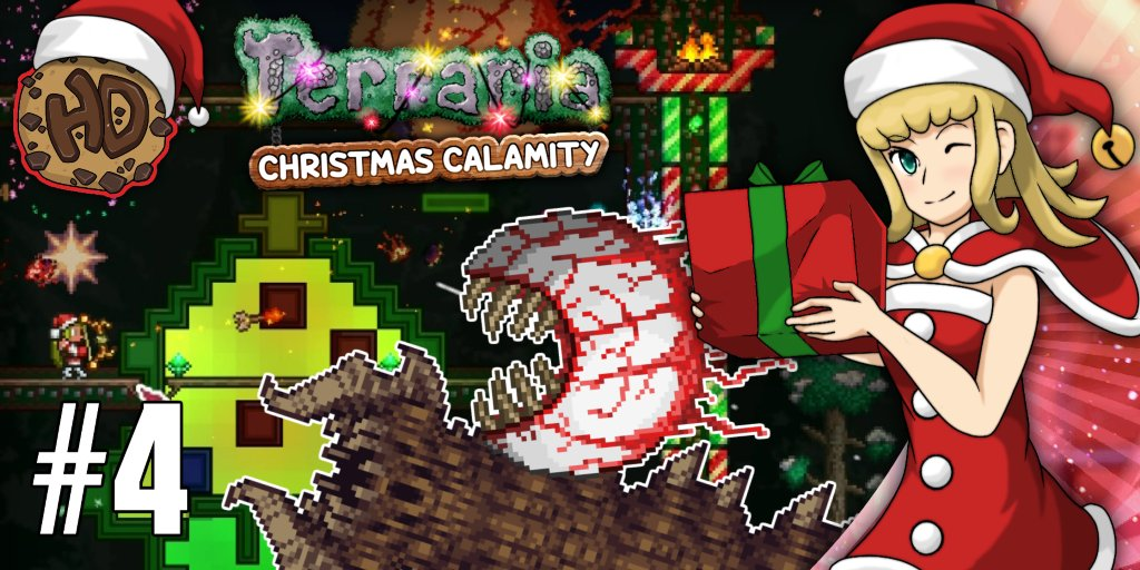 Terraria Christmas.Happydays On Twitter Mrs Claus Builds A Christmas Boss
