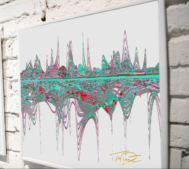 Only available until Dec. 7th! Lmtd ed Soundwaves Art created from our recording of The Adventure to support the incredible work of MusiCorps. Every print will be signed by Tom DeLonge and Soundwaves Art creator Tim Wakefield. Pre order yours here: soundwavesartfoundation.com/product/angels…