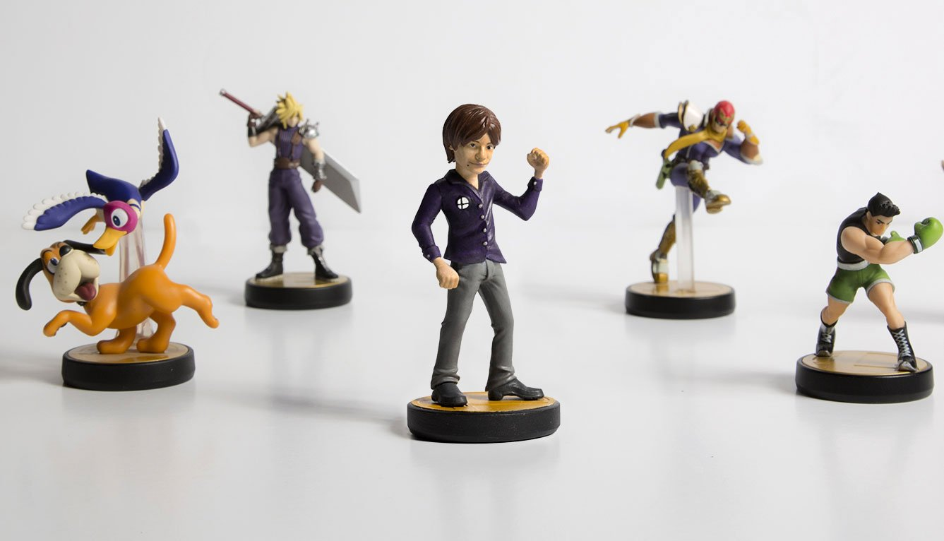 Smash Bros. creator Masahiro Sakurai gets his own (unofficial) Amiibo. https://t.co/pqnrpwQj62 https://t.co/qOVJ7WzcZl