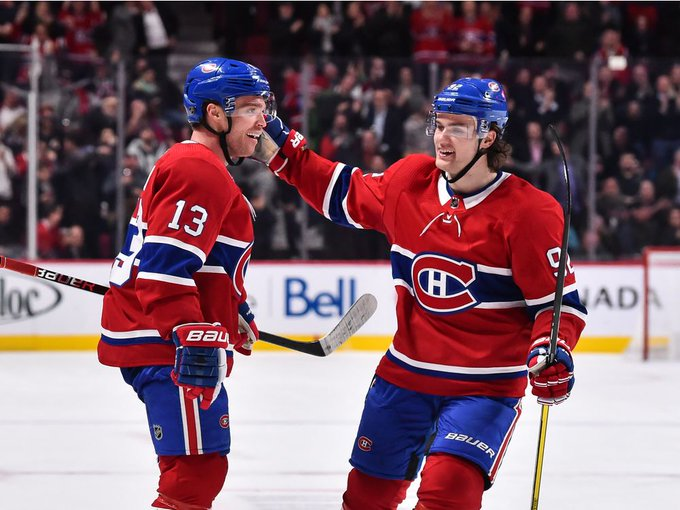 Canadiens find a dynamic duo in Max Domi and Jonathan Drouin #GoHabsGo Photo