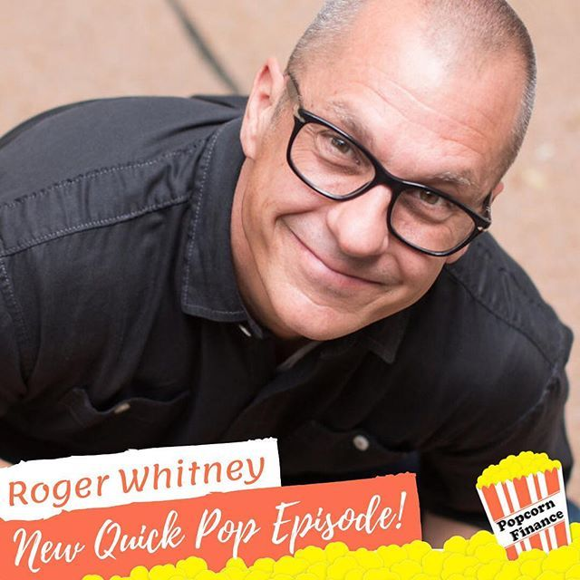 @rogerpwhitney is back for a bonus Quick Pop episode!  I guess he couldn't resist the smell of popcorn. #popcornfinance #quickpop https://t.co/Lw1J6IEuQ7 https://t.co/mM24a5nmVi