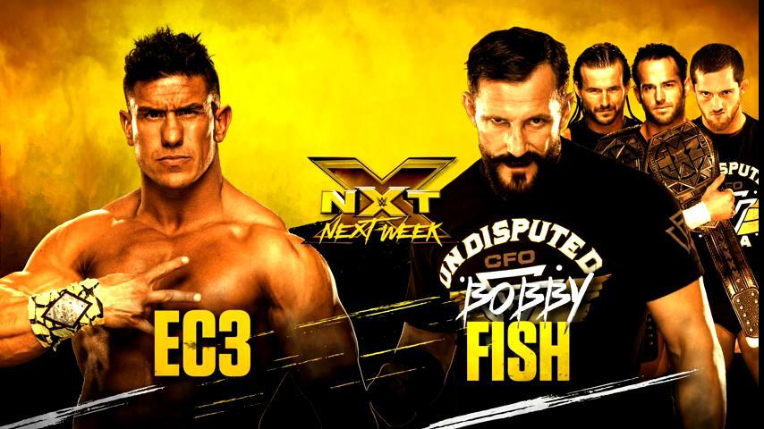 Next week is about to be GOOD. #WWENXT #UndisputedERA @therealec3