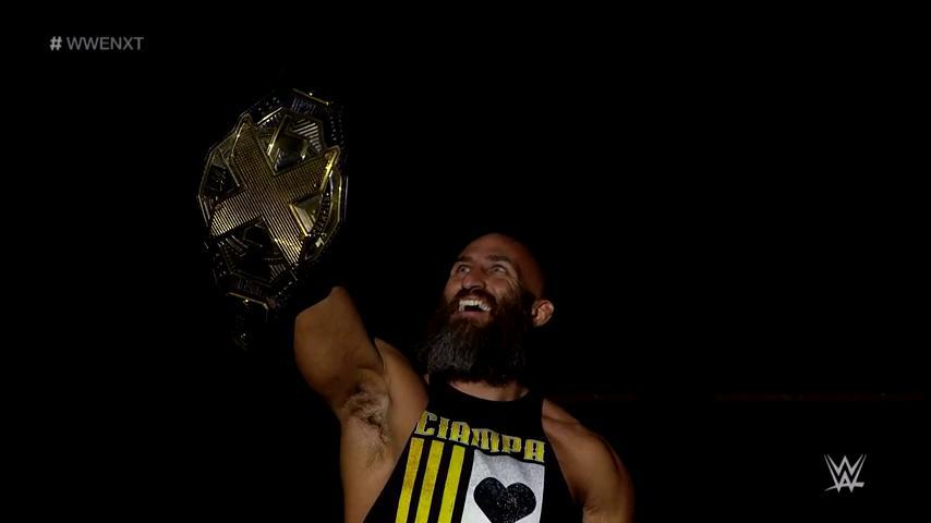 Hes here. @ProjectCiampa #WWENXT