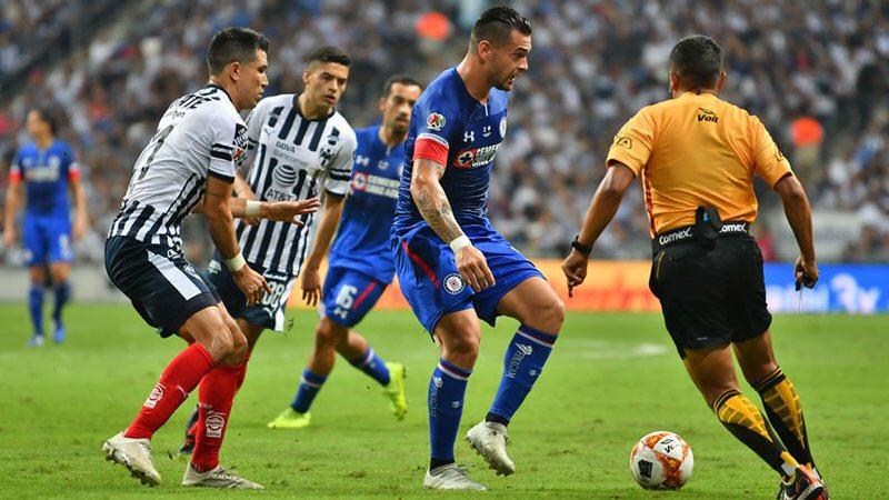 Monterrey gano 1-0 ante el Cruz Azul en la ida Semifinal AP 2018