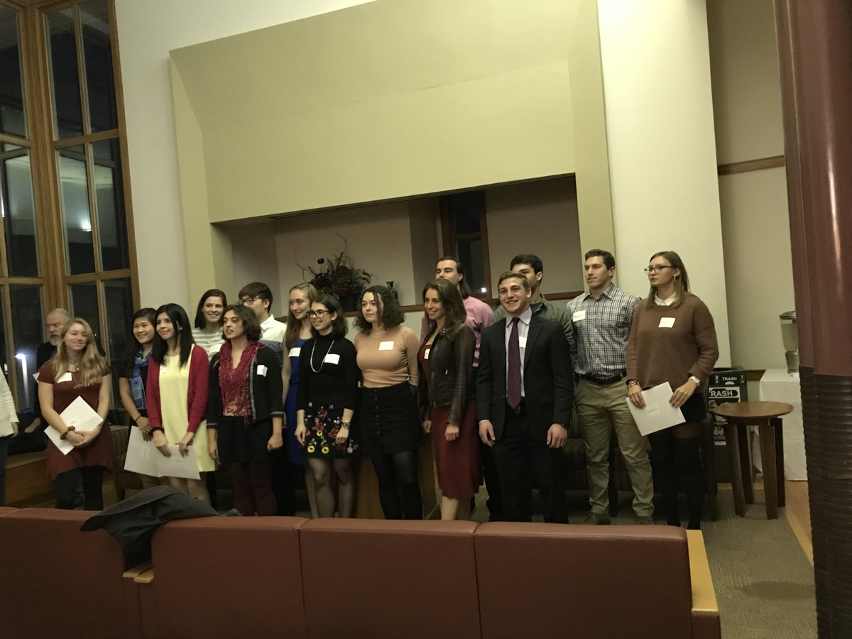 test Twitter Media - Always a proud moment to participate in the fall induction ceremony for @PhiBetaKappa @wesleyan_u https://t.co/jWfDR0wBz4