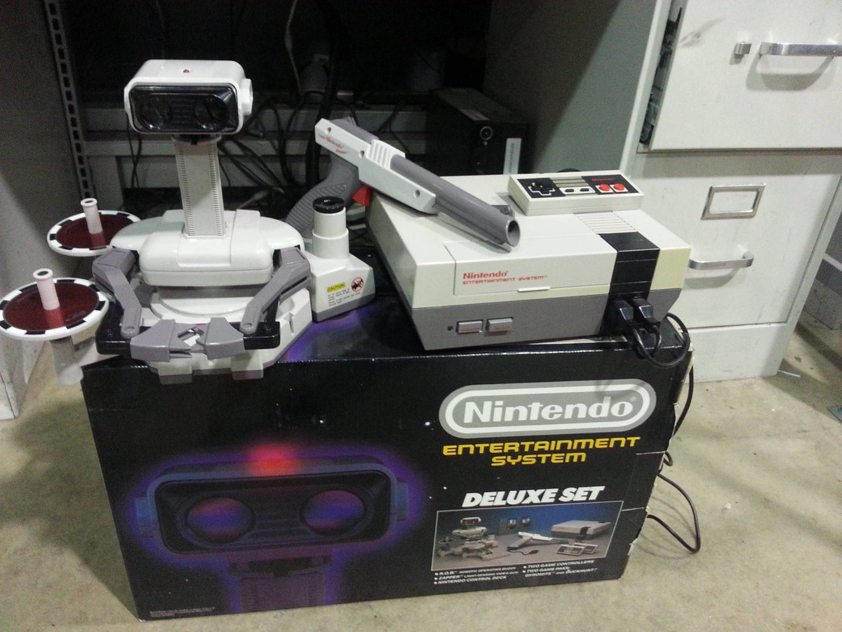The original Nintendo also came with a robot.
