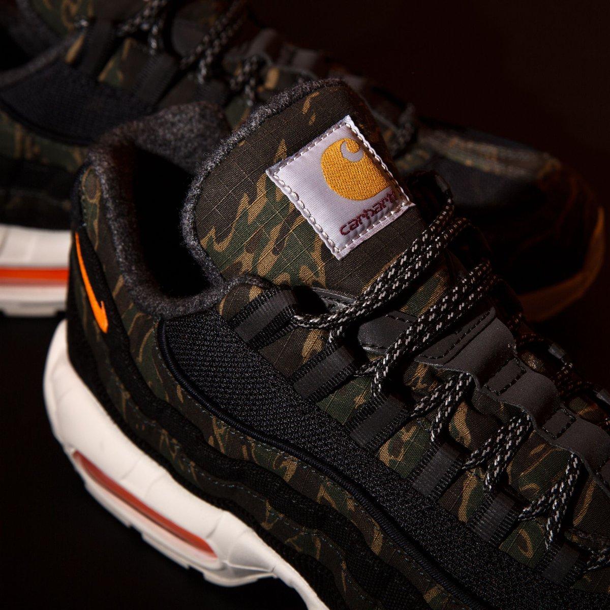 "brand new 6f114 775c8 titoloshop #verySOON❗️Carhartt WIP x Nike Air Max 95 "" ..."