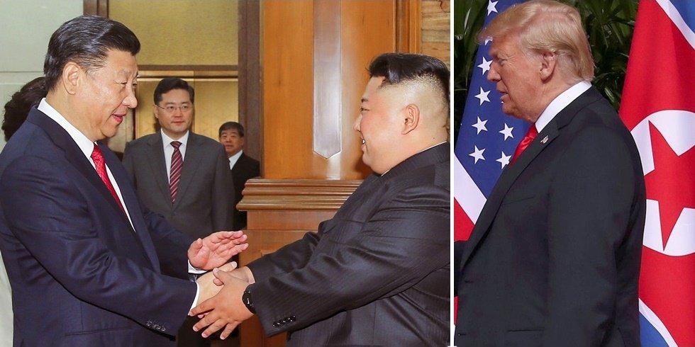 미국은 내년 2월 전, 북한 비핵화 협상을 마무리하기 위해 무역전쟁 카드로 중국을 압박할 가능성이 크다.  미국, 북한 볼모로 중국 잡는다 https://t.co/iVfiLpxbak  ■ 끝까지 기록하겠습니다  https://t.co/JShS7VA1xQ