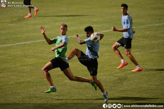 #BNacional | Práctica de fútbol y #GyEJujuy ya piensa en Brown de Adrogué Foto