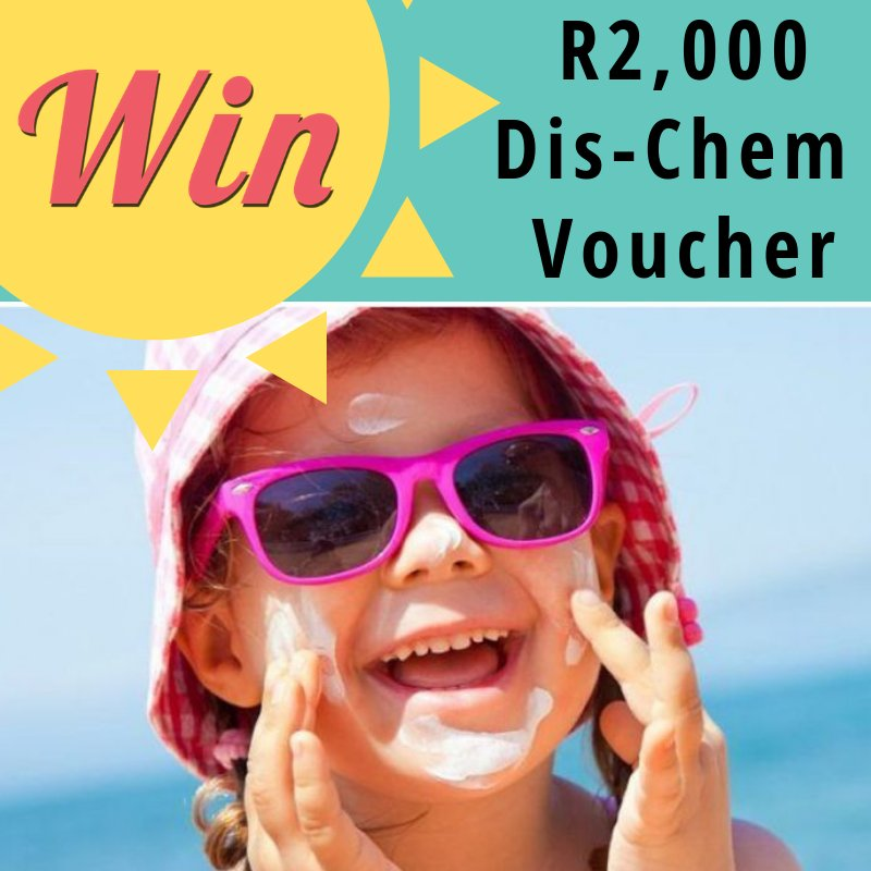Stock up at Dis-Chem on everything you need for your fun-in-the-sun time this vacay ☀️  The R2,000 Dis-Chem voucher draws at midnight tonight, play now to win!  https://t.co/DGFzJtp1gF https://t.co/R5fxL1QrKb