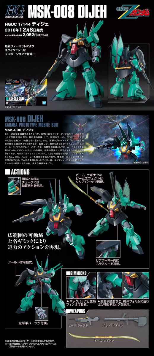 Image result for HGUC 1/144 Dijeh
