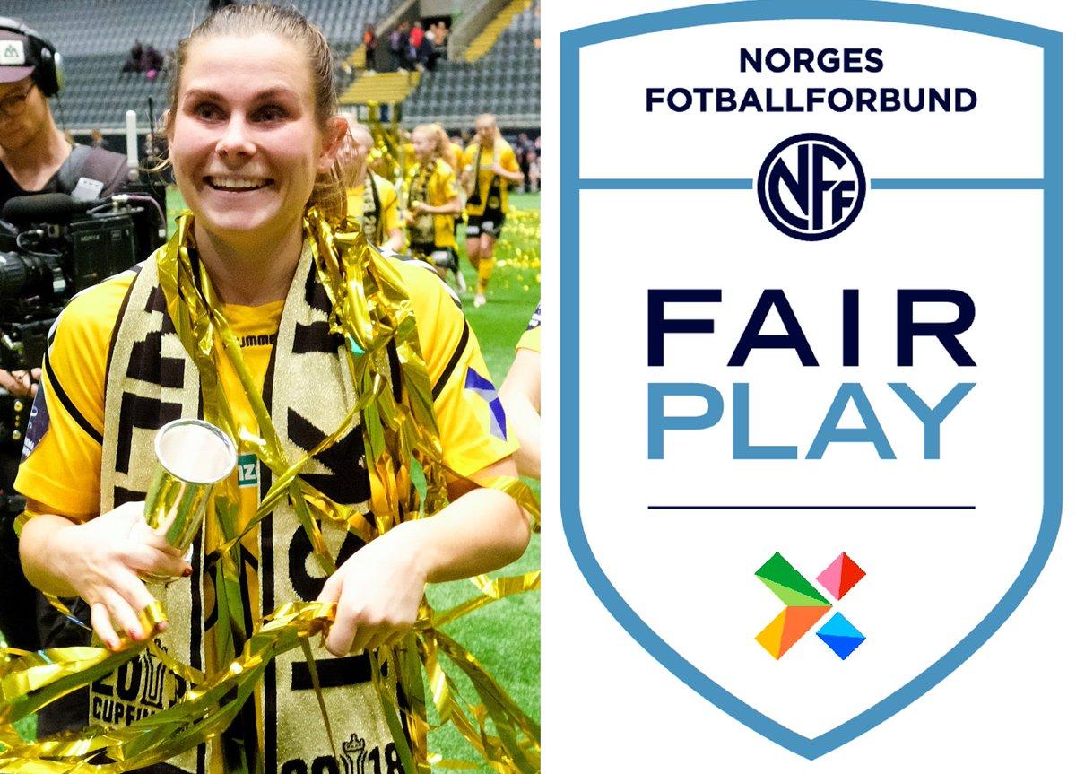 b3e90dff ... og Norsk Tippings Fair Play-pris, som går til laget med færrest gule og  røde kort. En liten, men viktig fjær i hatten for strålende  toppidrettsutøvere ...