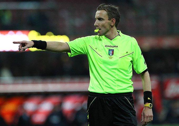 El árbitro que dirigirá el partido #CagliariRoma será Mazzoleni. #ASRoma @SerieA Foto
