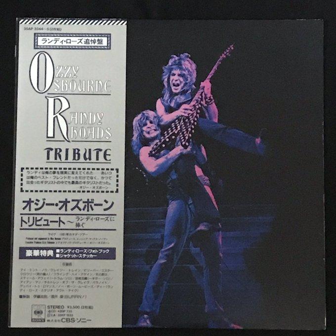 RANDY RHOADS  TRIBUTE  / OZZY  OSBOURNE  HAPPY  BIRTHDAY           RANDY  RHOADS !
