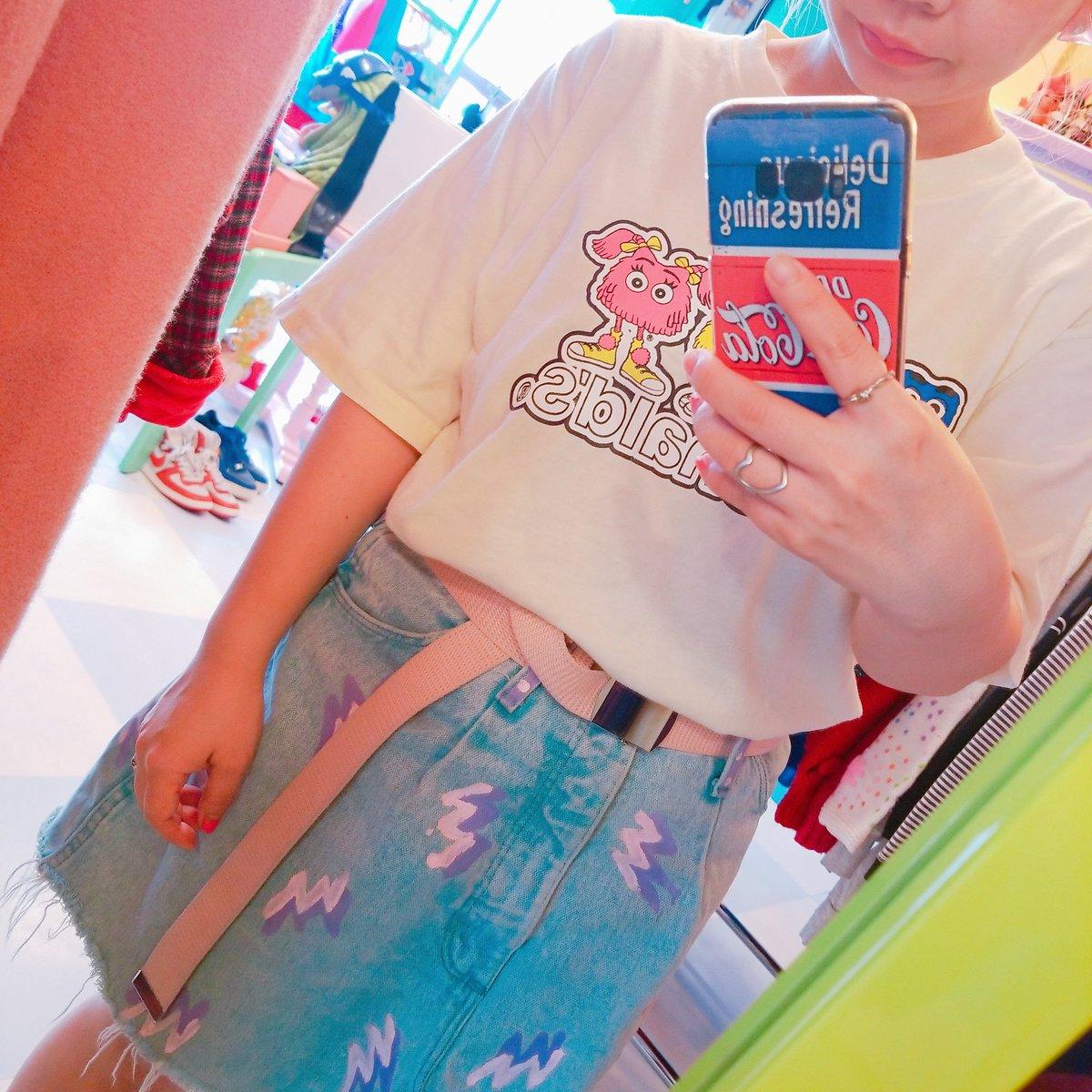 今日暑かったからTシャツで着てしまったけど、、、夜涼しくなっとる♥️