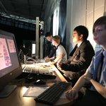 Image for the Tweet beginning: The gentlemen behind the scenes