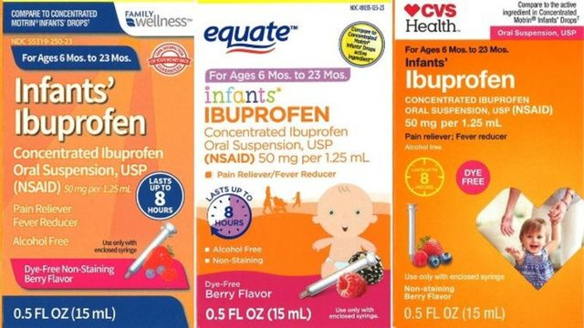 Check your cabinets! Infant ibuprofen sold at Walmart, CVS, Family Dollar recalled https://t.co/1XTWSMmWVP