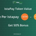 Image for the Tweet beginning: IstaPay Tokens are currently in
