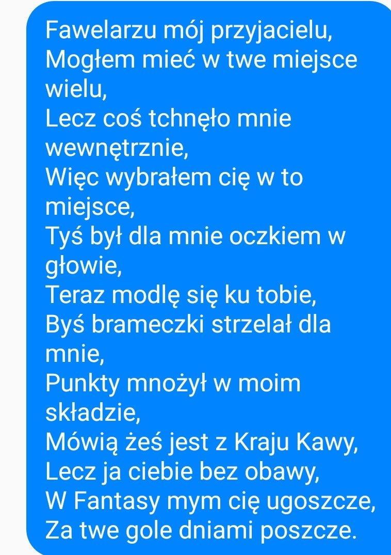Jakub Siepak On Twitter Evenew Mój Wiersz O Nim