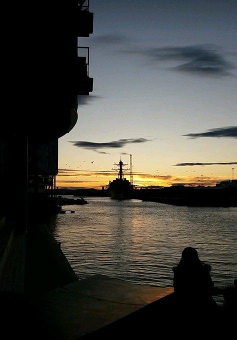 #jeudiphoto @JeudiPhoto encore la mer, encore le ciel, encore une beauté à perte de vue. Et surtout un bâteau ! Photo
