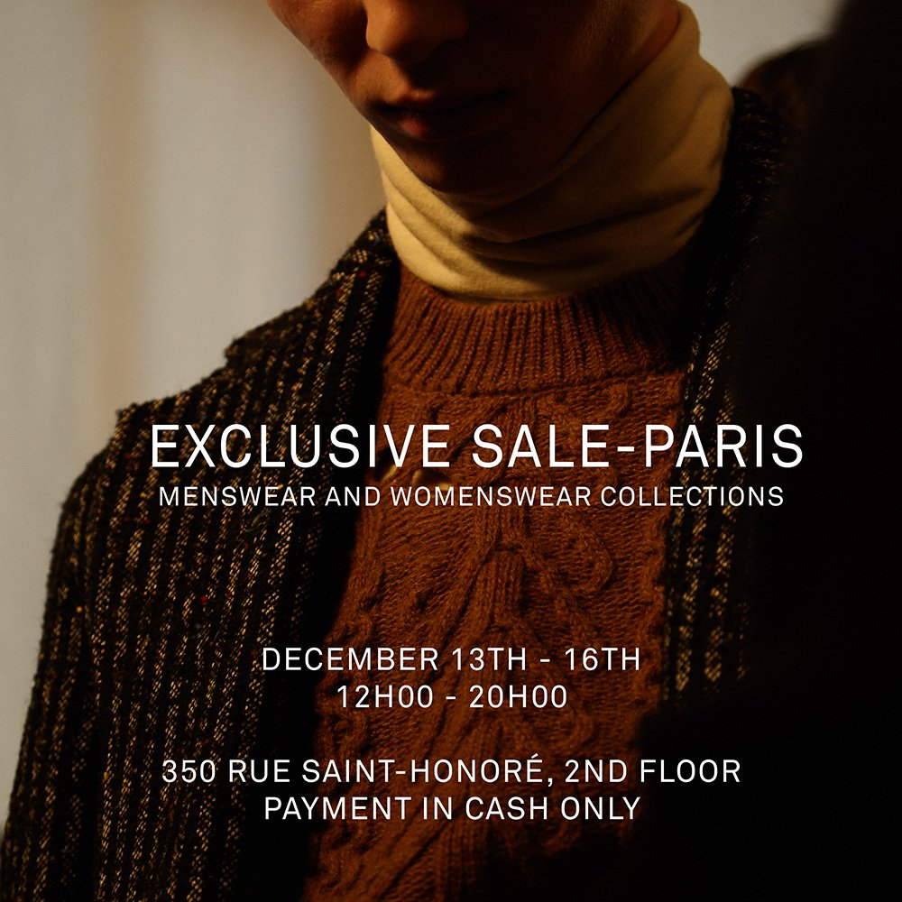 63a10d323e2 Damir Doma Exclusive Sale - Paris. Menswear and womenswear past  collections. From Thursday 13th