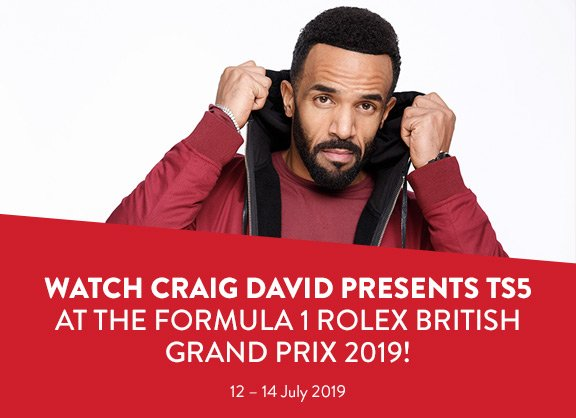 So excited to announce that I'll be bringing @TS5 to the tracks at @SilverstoneUK for the British Grand Prix in July 2019! 💥🏎👌🏽🏁 https://t.co/zwukS8WVDw