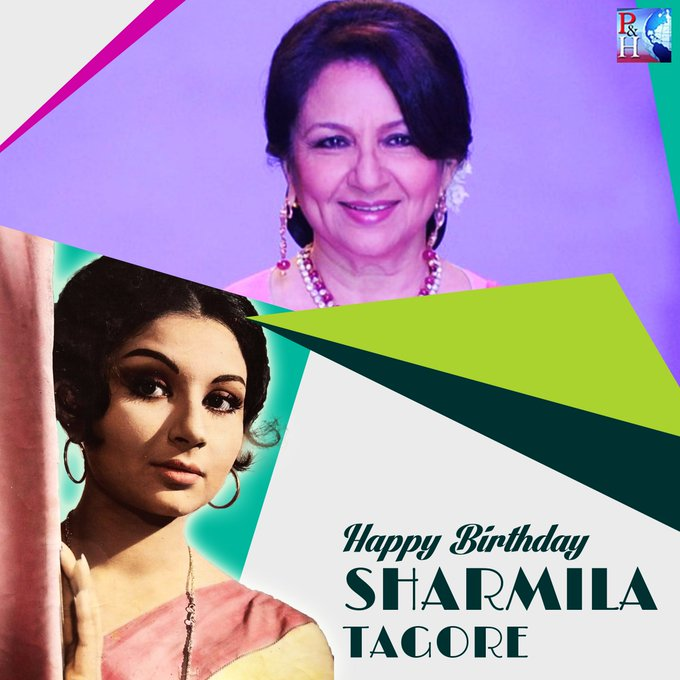 Remembered for her beautiful, mischievous eyes, #SharmilaTagore had everything that was required to play lead roles opposite superstars of those times. We wish the gorgeous actress, good health and happiness on her #birthday Watch her biography here > Photo