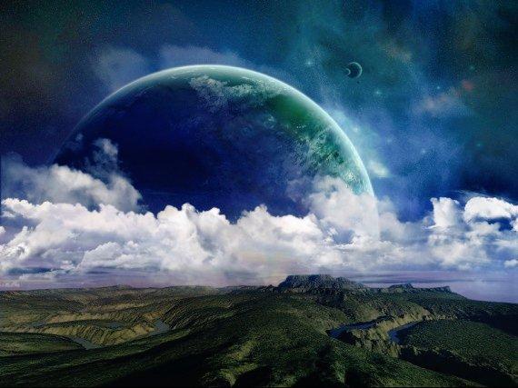 RT @Deekhlan: Vue de la planète géante सिफ़र depuis la lune आकस्मिक ...  #6décembre #SpaceGeekCalendar https://t.co/KTwH8eCzfJ