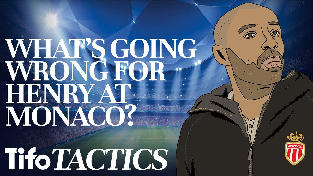 Replacing the popular &amp; effective Leonardo Jardim, who won Ligue 1 in 2016-17, was always going to be hard. But it's clear that Thierry Henry is finding it tougher than expected.  @AFHStewart on what&#39;s going wrong for Henry at Monaco:  http:// youtu.be/YQpqA46cIRw  &nbsp;    #WhiteboardFootball<br>http://pic.twitter.com/E7MQFs7w3N