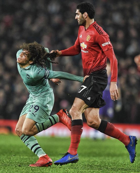 One horrible player! OT booing a 19 year old who dominated ur midfield! Mourinho saying only one team wanted to win 😂😂 what a horrible man he is! We battered you you deluded has been!! We march on while you will get sacked! #COYG Photo