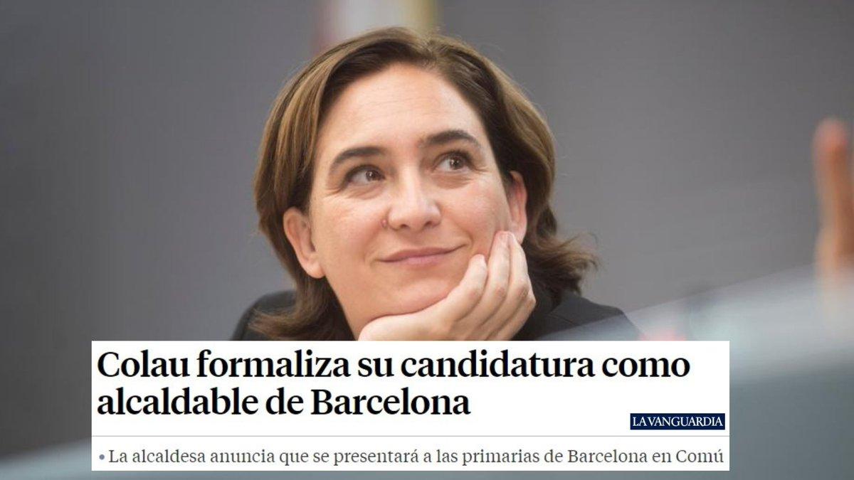 Enhorabuena, @AdaColau. Enhorabuena, Barcelona. lavanguardia.com/local/barcelon…