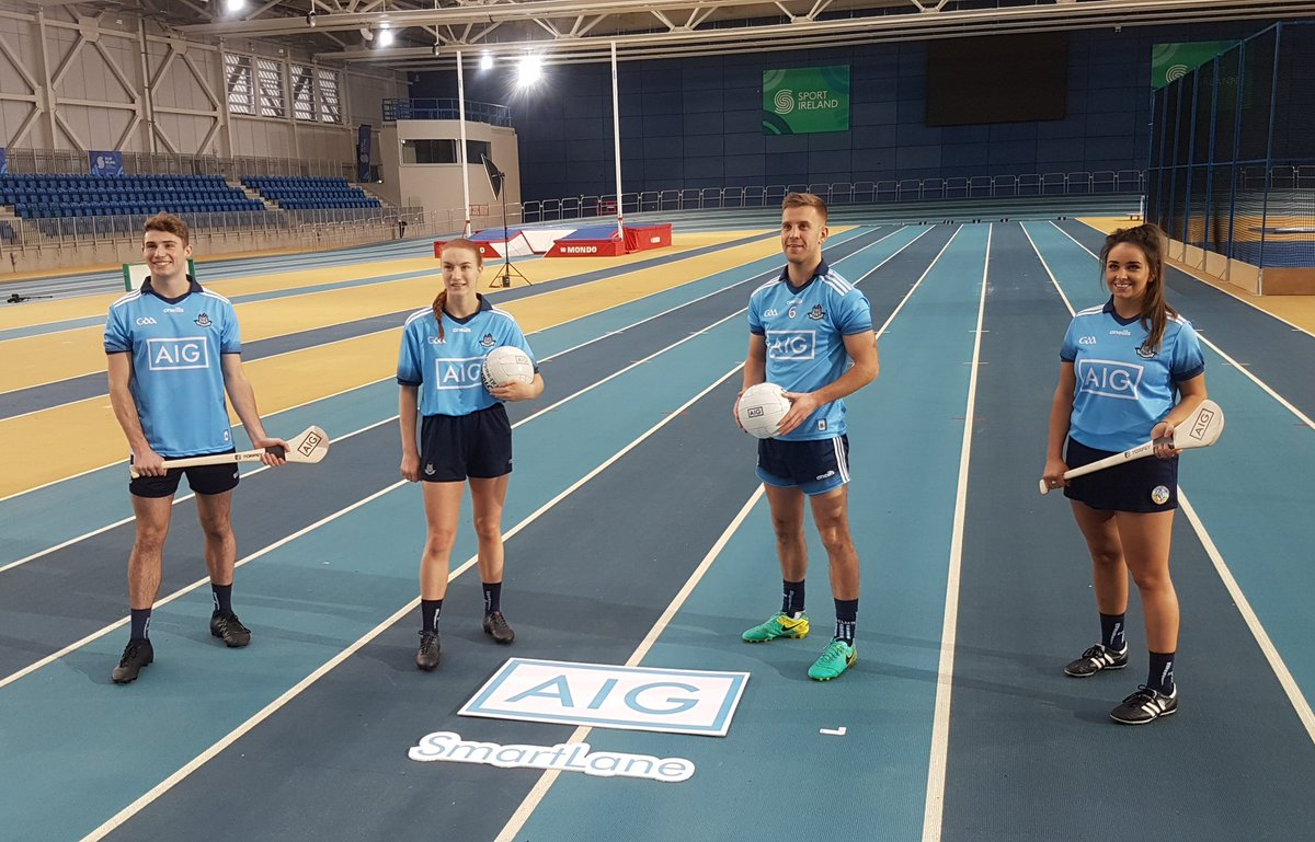 test Twitter Media - In the @sportireland National Indoor Arena for the launch of @AIGIreland's new SmartLane App! 📲 #BackingEveryStep https://t.co/YVEcGiSRta