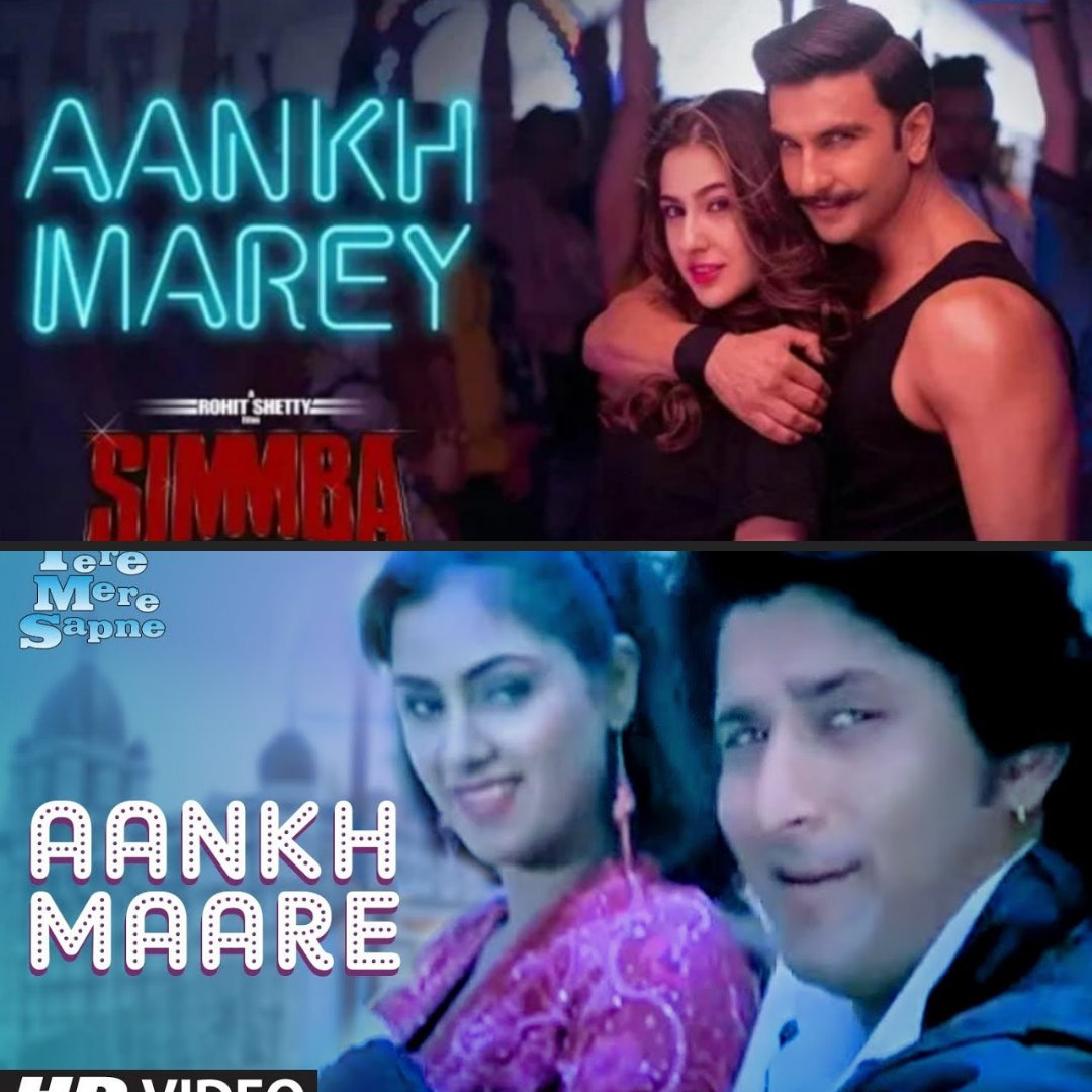 simba movie song aankh mare video download