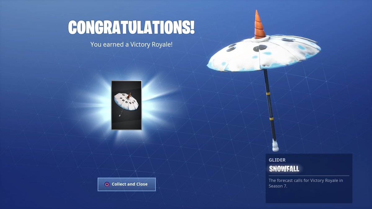 Fortnite Season 7 Win Umbrella | Fortnite Free To Play Ps4