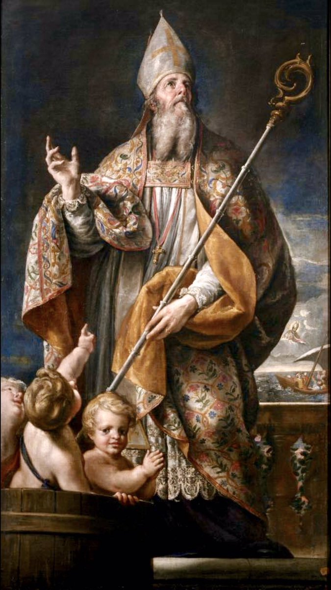 """Happy Feast of St. Nicholas, secret giver of gifts, patron saint of children!  """"The giver of every good and perfect gift has called upon us to imitate His giving by grace, through faith, and this is not of ourselves.""""  Saint Nicholas, pray for us on our Advent journey to Christ. <br>http://pic.twitter.com/CtoJlFVPBR"""