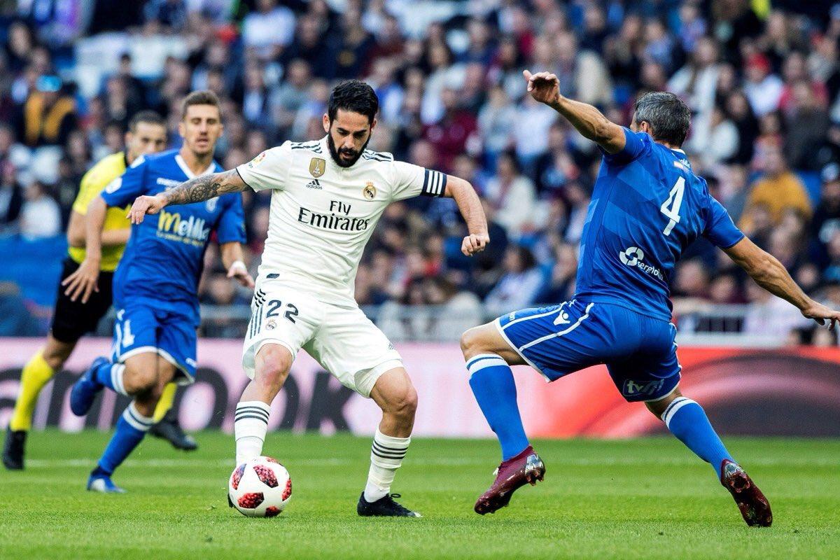 Pasa de ronda el Real Madrid con goleada frente al Melilla. Brillaron Isco y Marco Asensio con dos goles cada uno. También marcaron Vinicius y Javi Sánchez. Por parte del Melilla marcó Yacine.  #CopaDelRey  #RealMadridMelilla