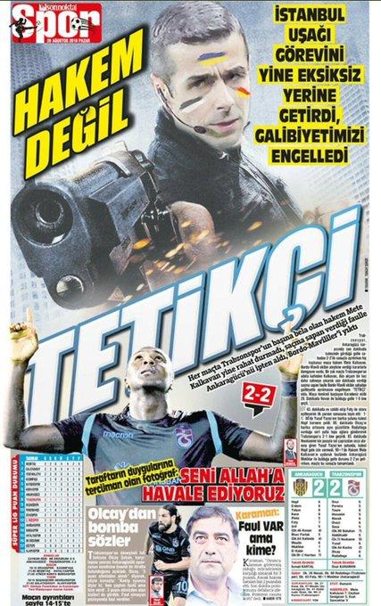 #KalkavanaTepkisizKalma haftaya karşı dikkatli olun @Trabzonspor Photo