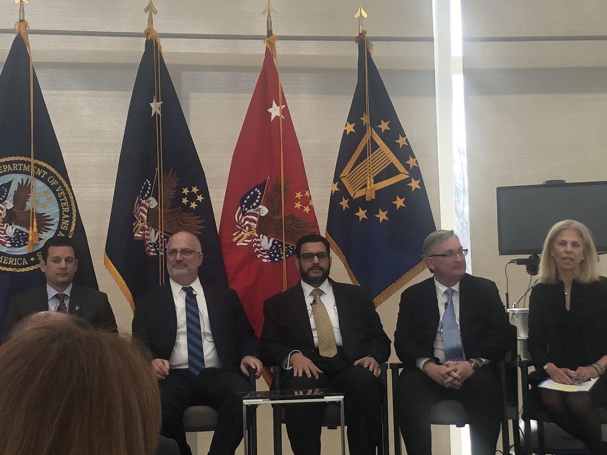 Proud of @asifdhar representing @DeloitteGov  as a panelist on innovation and advancement for telehealth #veteranshealth #vapartnerships #a2atelehealth <br>http://pic.twitter.com/kYMkt0EZ3a