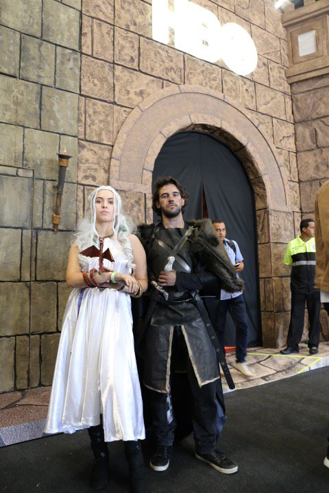 DRACARYS! The doors to the #GameofThrones activation at #CCXP is now open for one final day. Share your experience using #GOTXP for recognition in the realm.