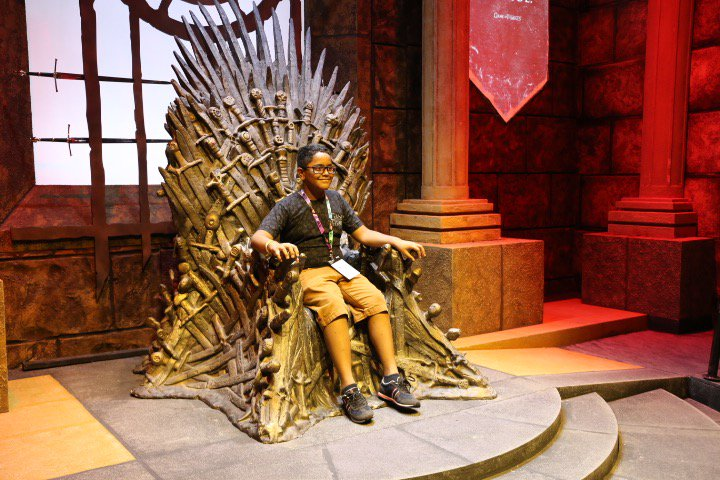 #ForTheThrone. Remember those who have sacrificed and #PayYourRespects at the #GOTXP activation.