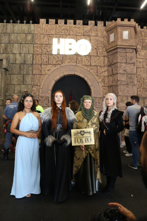 Valar Morghulis. #PayYourRespects at the #GOTXP activation today.