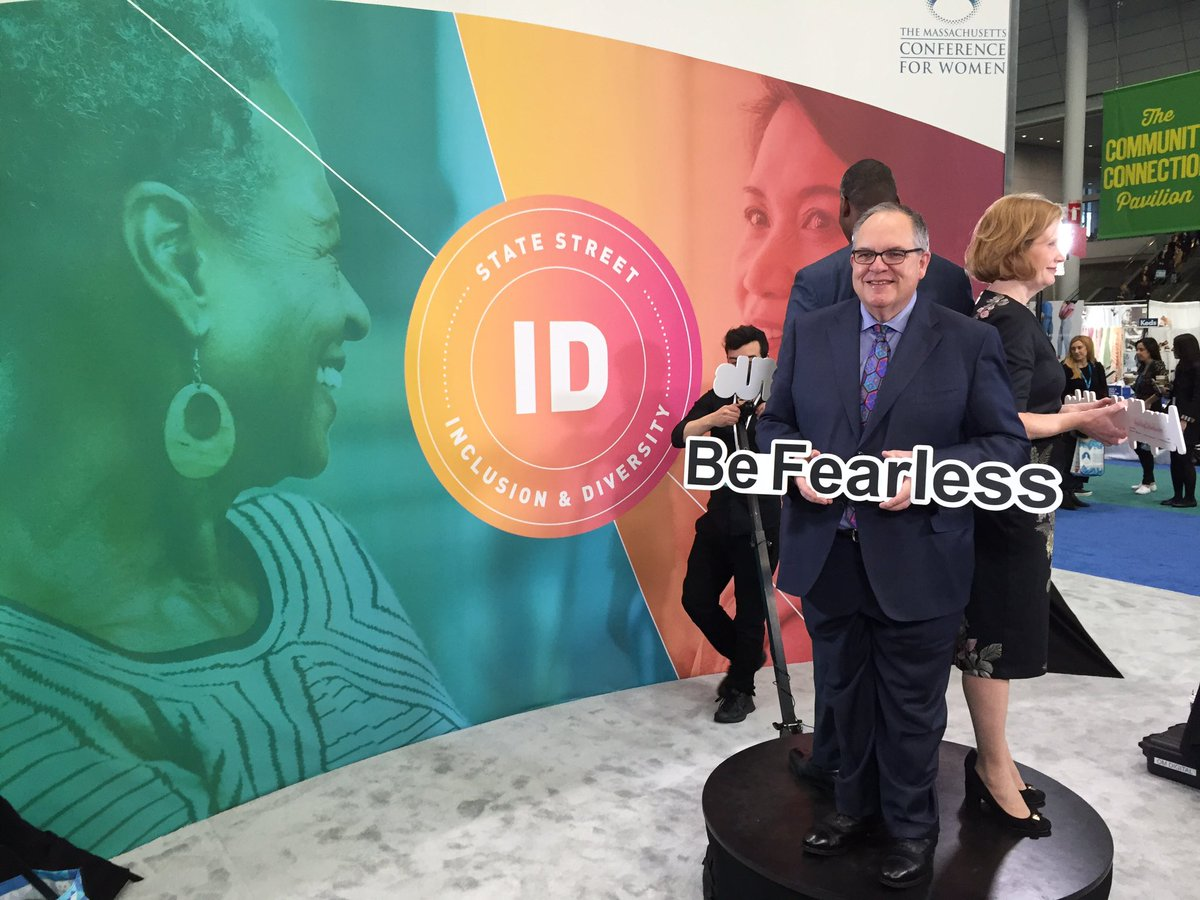 RT @PeterBrownJr: Inclusion & Diversity front and center at #MassWomen conference with @StateStreet. #BeFearless https://t.co/AYGX4VmXO0