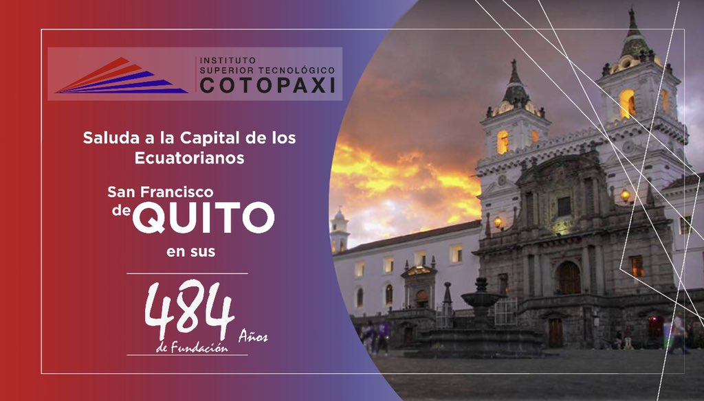 RT @istcotopaxi: #VivaQuito https://t.co/vYuP4ikCko