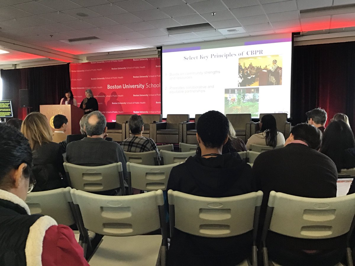 Barbara Israel &amp; Angie Reyes discussing the importance of CBPR! Always a treat to watch this power duo present @DetroitURC @umichsph #BUSPHSymposia <br>http://pic.twitter.com/hOuvb5q0Lp