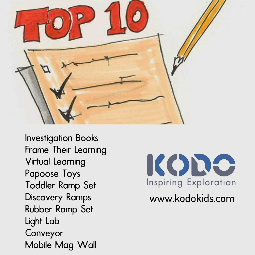 Kodo Kids On Twitter Top Ten Kodo Gifts For This Holiday